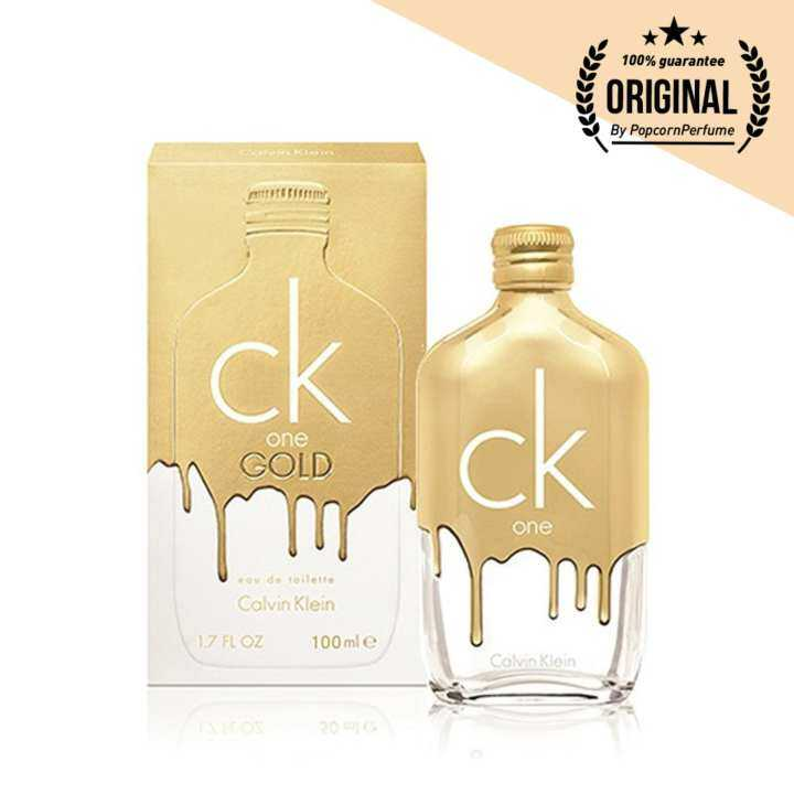 CK One Gold Limited Edition EDT 100 ml. (พร้อมกล่อง)