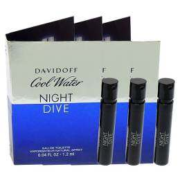 Davidoff Cool Water Night Dive EDT 1.2 ml. (3 ชิ้น)