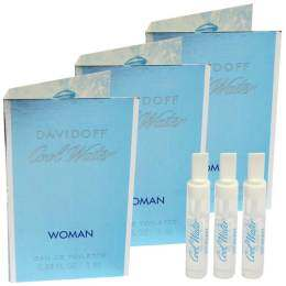 Davidoff Cool Water Women EDT 1 ml. (3 ชิ้น)