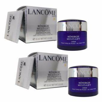 Lancome Renergie Multi-Lift Redefining Lifting Cream (15ml. x 2 กล่อง)