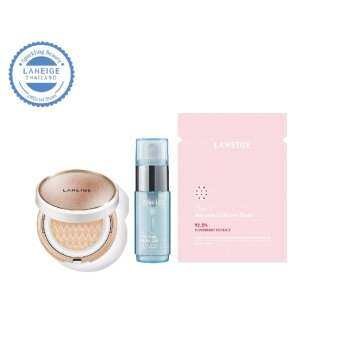 LANEIGE BB Cushion Anti-aging SPF 50+ PA+++ No.23C Cool Sand Set