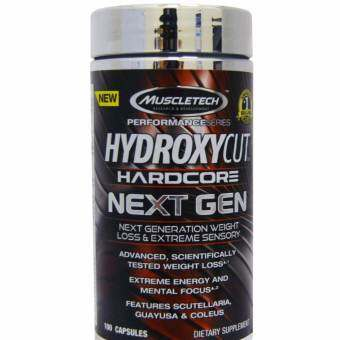 MuscleTech Hardcore NEXT GEN-Weight Loss- 100 Capsules