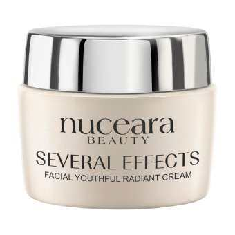 [SALE] ครีมเซรั่มยางพารา nuceara SEVERAL EFFECTS FACIAL YOUTHFUL  RADIANT CREAM