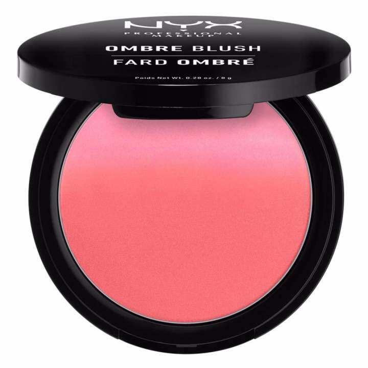 นิกซ์ โปรเฟสชั่นแนล เมคอัพ ออมเบร บลัช - OB05 สวีท สปริง บลัชออน NYX Professional Makeup Ombre Blush - OB05 Sweet Spring Blushes