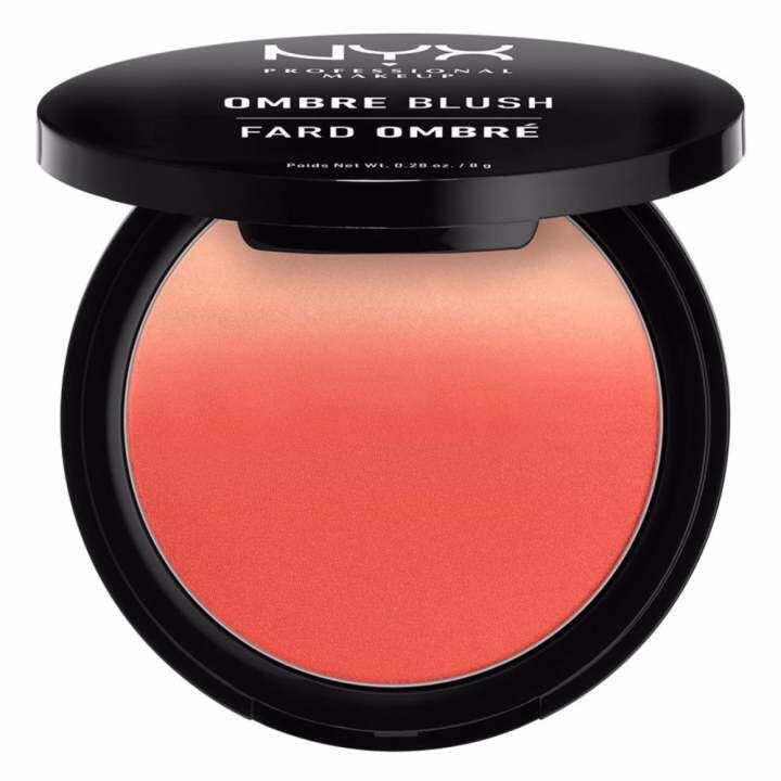 นิกซ์ โปรเฟสชั่นแนล เมคอัพ ออมเบร บลัช - OB07 ซอฟท์ฟลัช บลัชออน NYX Professional Makeup Ombre Blush - OB07 Soft Flush Blushes