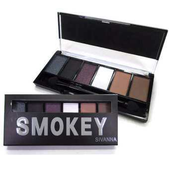 Sivanna Colors 6 Color Eyeshadow Palette (Smokey)