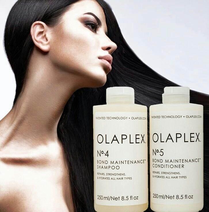 (ปลอมคืนเงิน)แชมพูและครีมนวด OLAPLEX No.4 Bond Maintenance™ Shampoo 250 ml. และ OLAPLEX No.5 Bond Maintenance™ Conditioner 250 ml. ป้องเส้นผมแห้งชี้ฟู ฟื้นฟูผมให้นุ่มชุ่มชื้น แลดูสุขภาพดี
