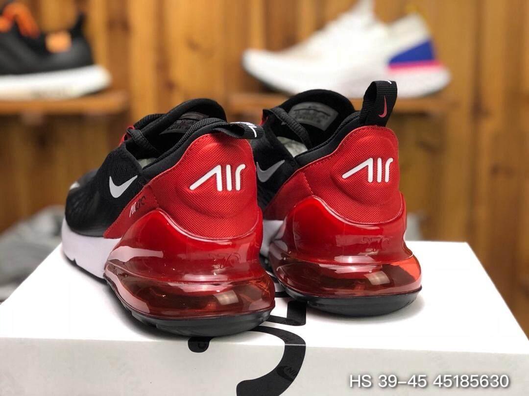 【แบรนด์ใหม่และเป็นของแท้】Nike AIR MAX 270 รองเท้าผู้ชาย รองเท้าสตรี รองเท้ากีฬา แฟชั่น รองเท้าลำลอง เบาะลม รองเท้าวิ่ง AH8050-022 ร้านค้าอย่างเป็นทางก