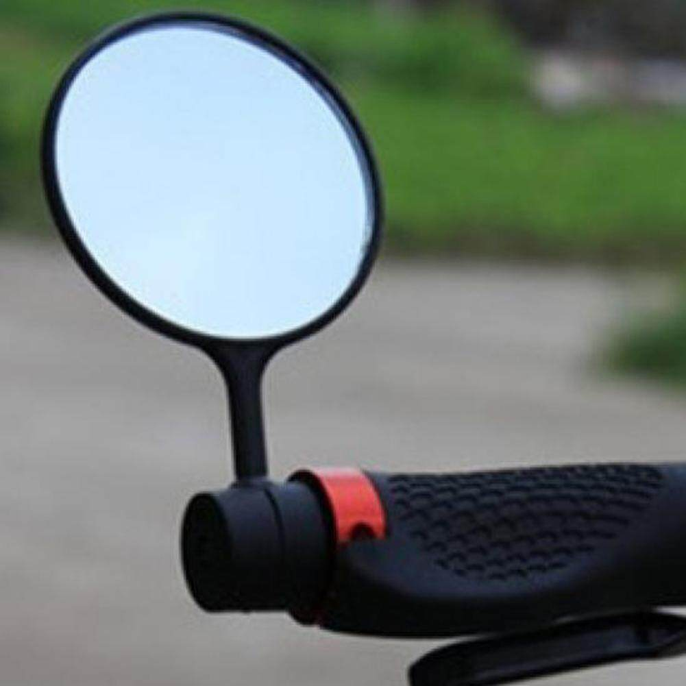 360 Degree Adjustable Bicycle Handlebar Bike Mirror Bicycle Rearview Mirror Universal Rear Back View Sight Bicycle Accessories (2 pack)