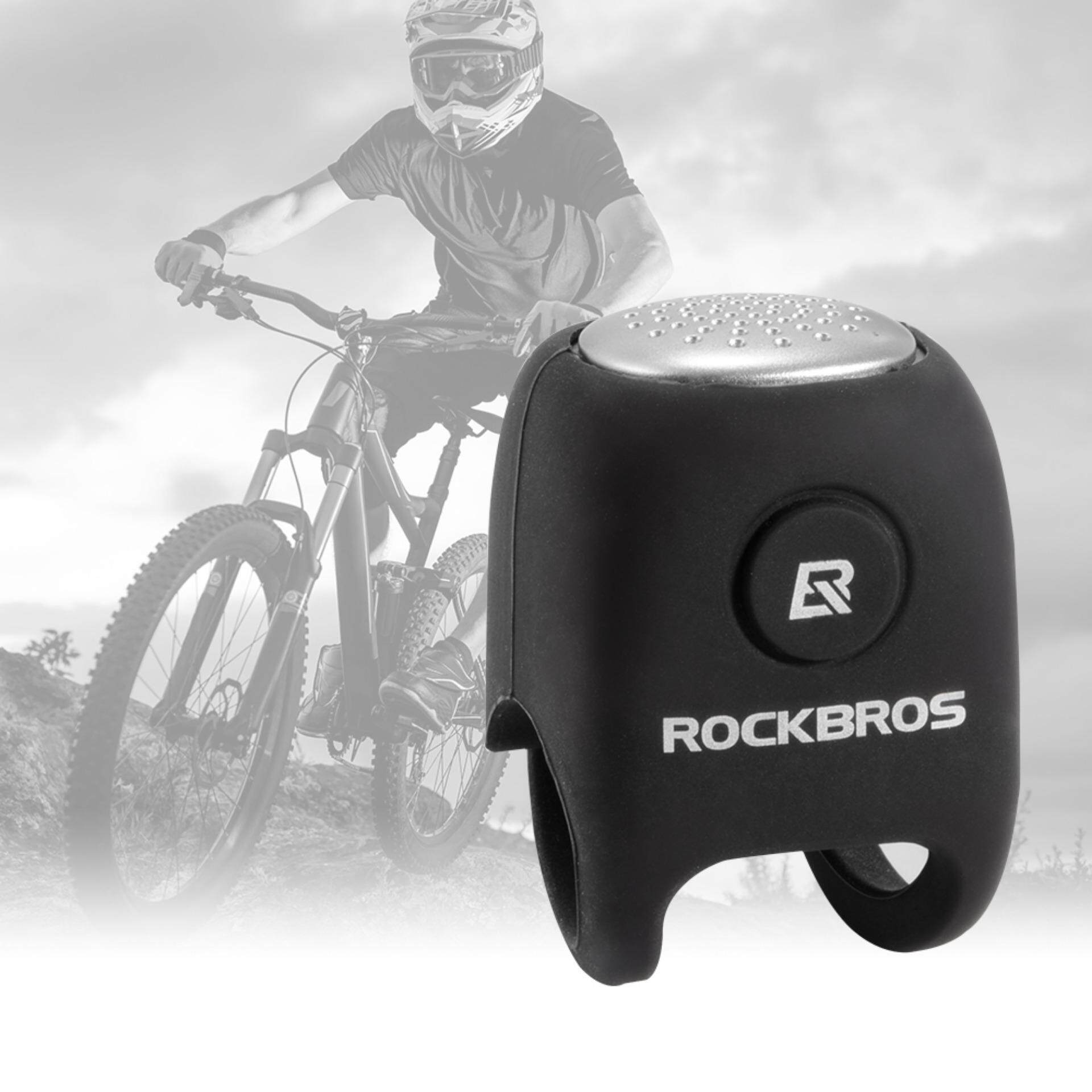 RockBros Bike Bicycle Handlebar Ring Bell Safe Cycling Alarm Loud Sound กริ่งและแตรจักรยาน