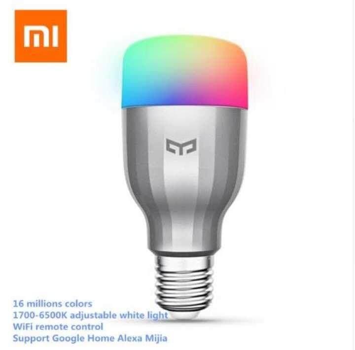 Xiaomi Yeelight Blue ll หลอดไฟ LED สทาร์ท LED Smart Lights xiaomi led light แนะนำ 9 ไอเทมน่าสนใจของ Xiaomi - แนะนำ 9 ไอเทมน่าสนใจของ Xiaomi