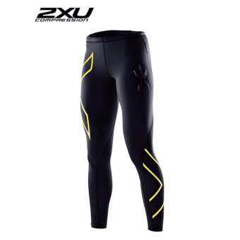 2XU Men's Elite Compression Tights Black/Gold
