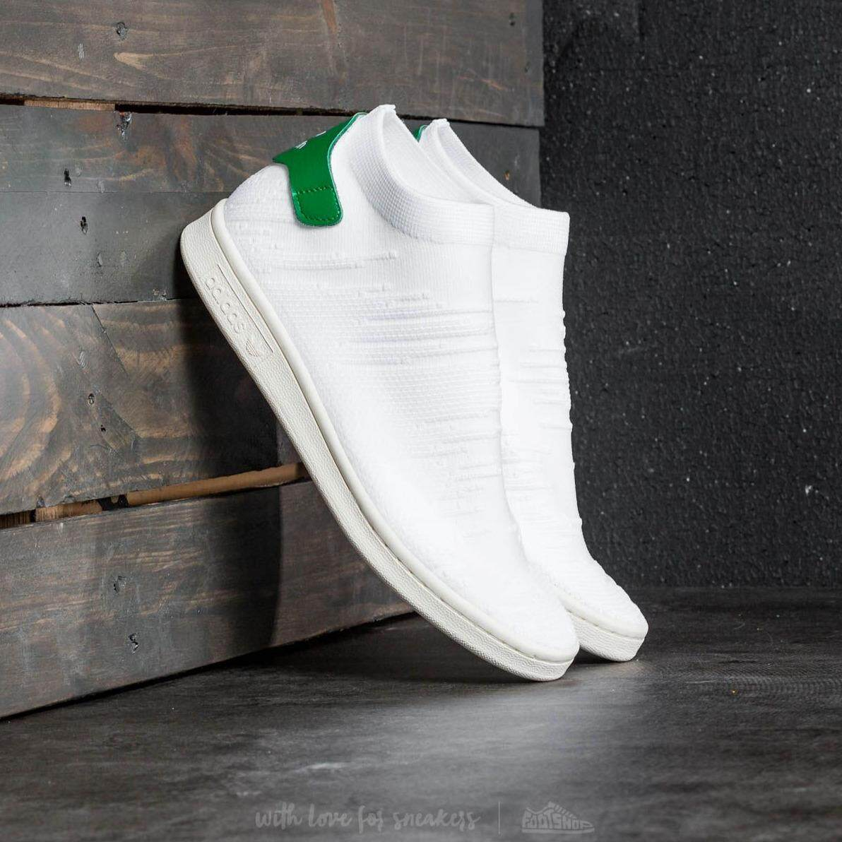 Adidas Stan Smith Sock Primeknit Shoes**ของเเท้
