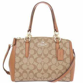 COACH F36718 MINI CHRISTIE CARRYALL IN SIGNATURE