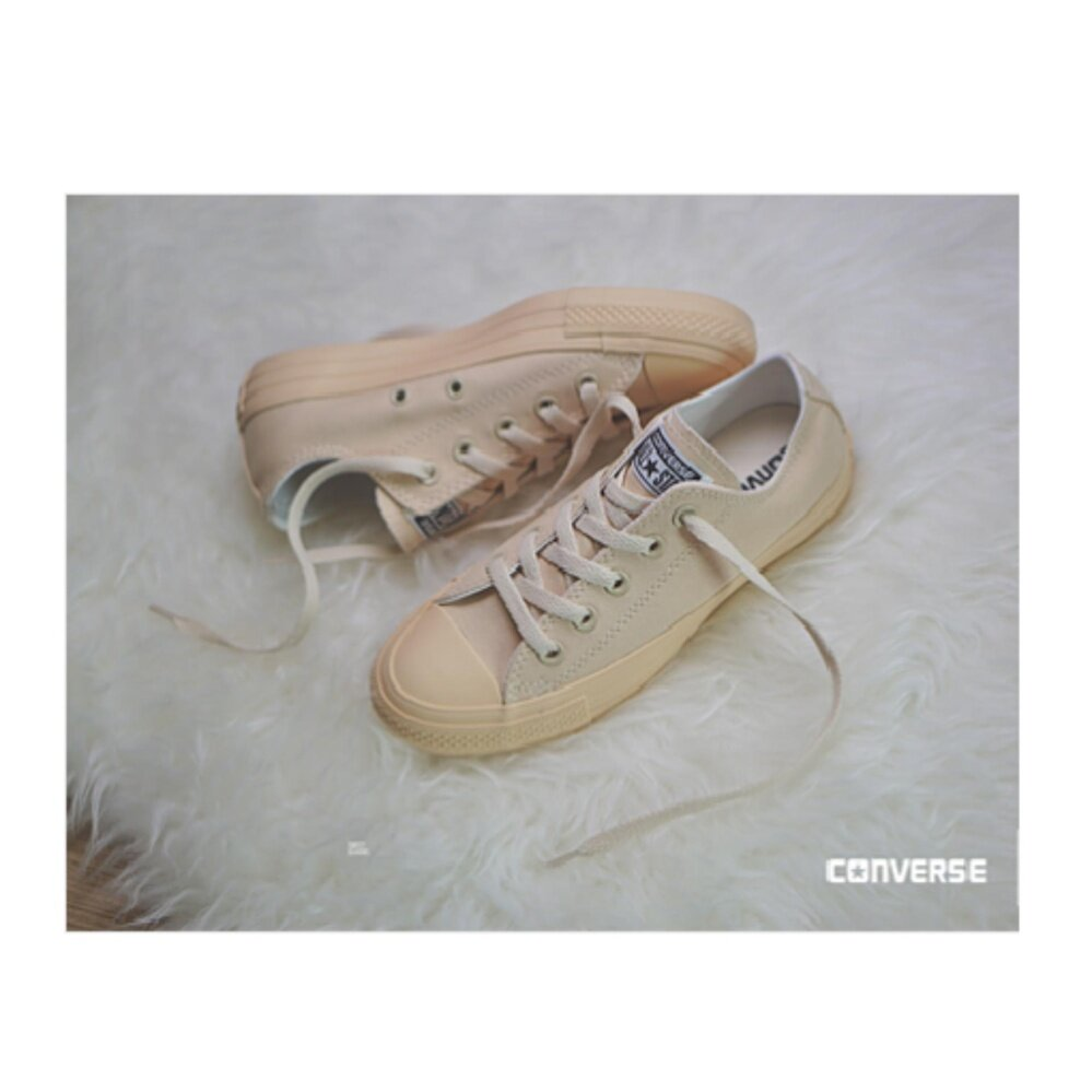 Converse Chuck Taylor All Star Nude Ox Light Yellow 11-10011KQTY