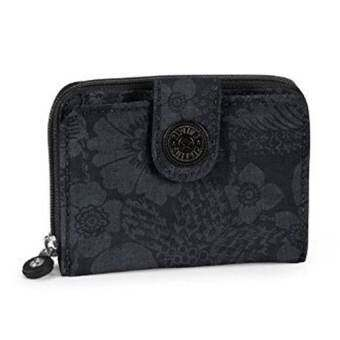 Kipling  กระเป๋าเงิน Kipling Newmoney Tropic Flower Black