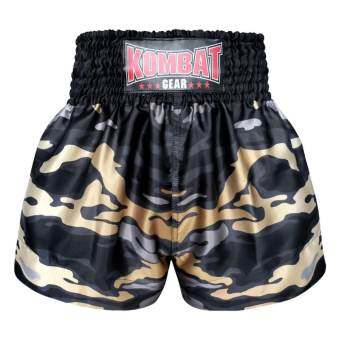 Kombat Gear Muay Thai Boxing shorts Grey Army Camouflage
