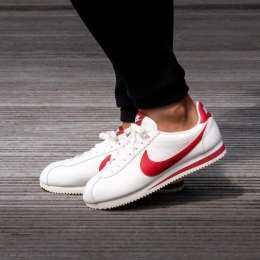 รองเท้า Nike Cortez Premium Leather WHITE GUM RED (รุ่นยอดนิยมสุดฮอต)
