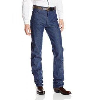 Wrangler Mens Cowboy Cut Original Fit Jean Rigid Indigo 36X32 - intl