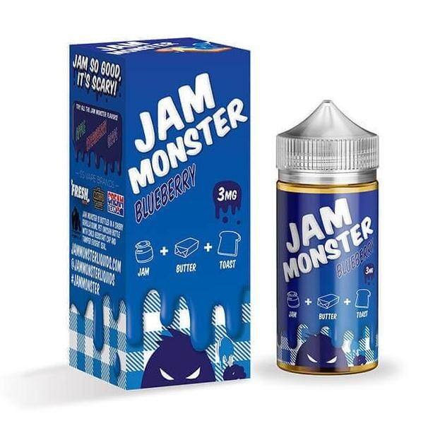 JamMonster Juice 100 ml - Blueberry