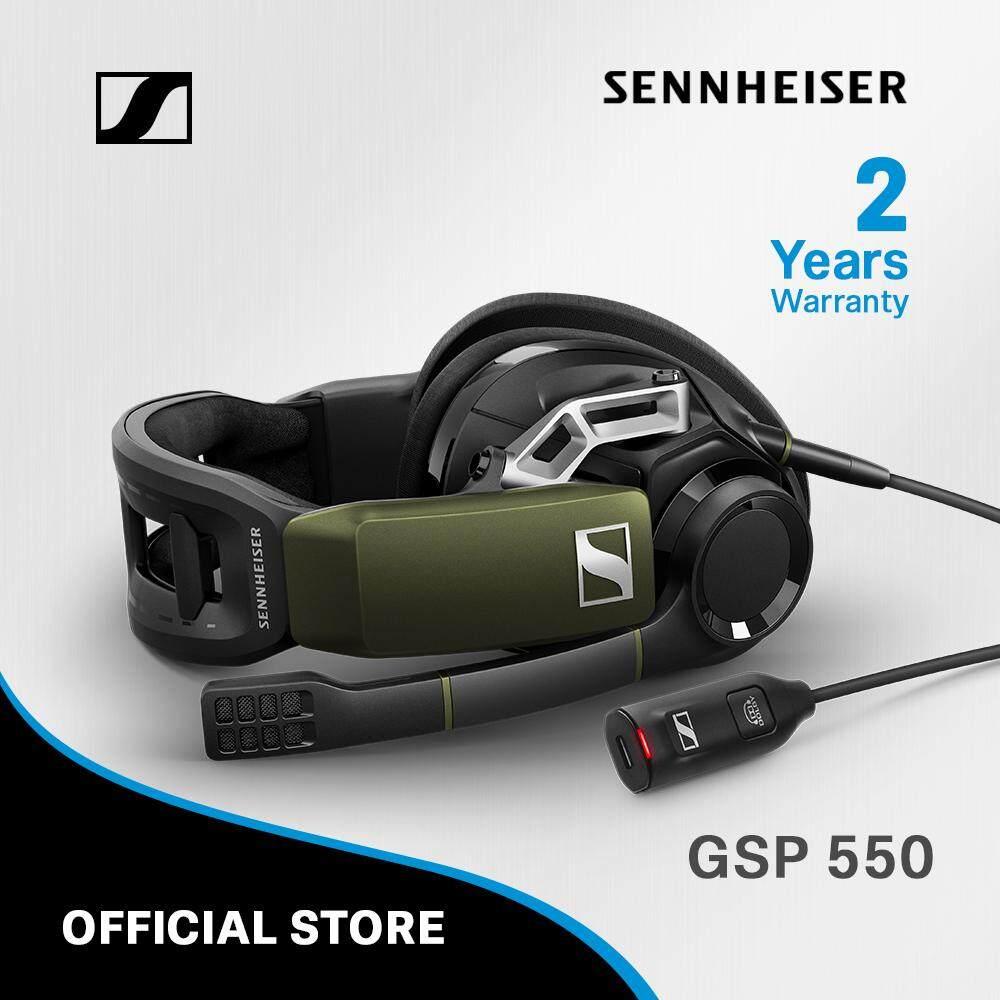 Sennheiser หูฟังเกม รุ่น GSP 550 สำหรับ PC, Mac, PS4 5 gaming gear ที่เหล่าเกมเมอร์ต้องมี - 5 Gaming Gear ที่เหล่าเกมเมอร์ต้องมี