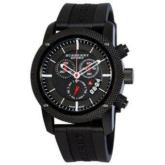 Burberry Men's BU7701 Endurance Chronograph Dial Watch - Black