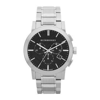 Burberry Men's BU9351 Large Check Stainless Steel Bracelet Watch