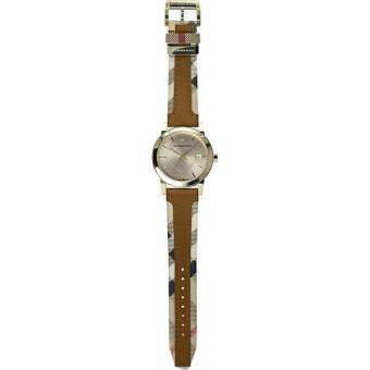 Burberry The City Haymarket Check Leather Ladies Watch BU9133