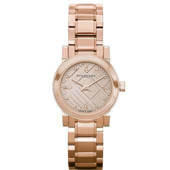 Burberry Women's Watch Rose Gold Stainless Steel Strap BU9215