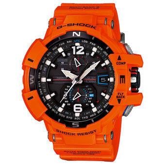 Casio G-shock Gravity GW-A1100R-4A - Red-Orange