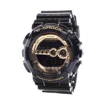 Casio Watch G-SHOCK Black Resin Case Resin Strap Mens NWT + Warranty GD-100GB-1D