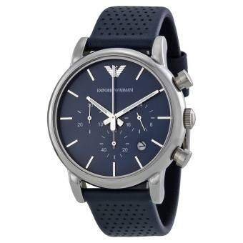 Emporio Armani Men's AR1736 Classic Analog Display Analog Quartz Blue Watch