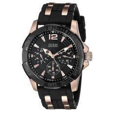 Guess W0493g2 Jam Tangan Pria Leather Black - Daftar Harga Terkini ... 626ec7b384
