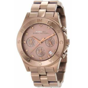 Marc Jacobs Blade Quartz Brown Dial Women's Watch MBM3121