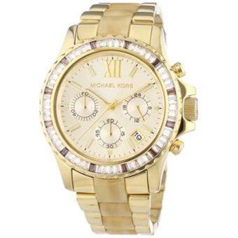 Michael Kors Ladies Watch Stainless Strap MK5874 - Gold
