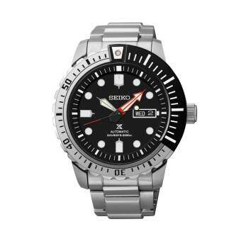 Seiko Automatic นาฬิกาข้อมือชาย Black Dial Stailess Steel Divers Prospex SRP587K1