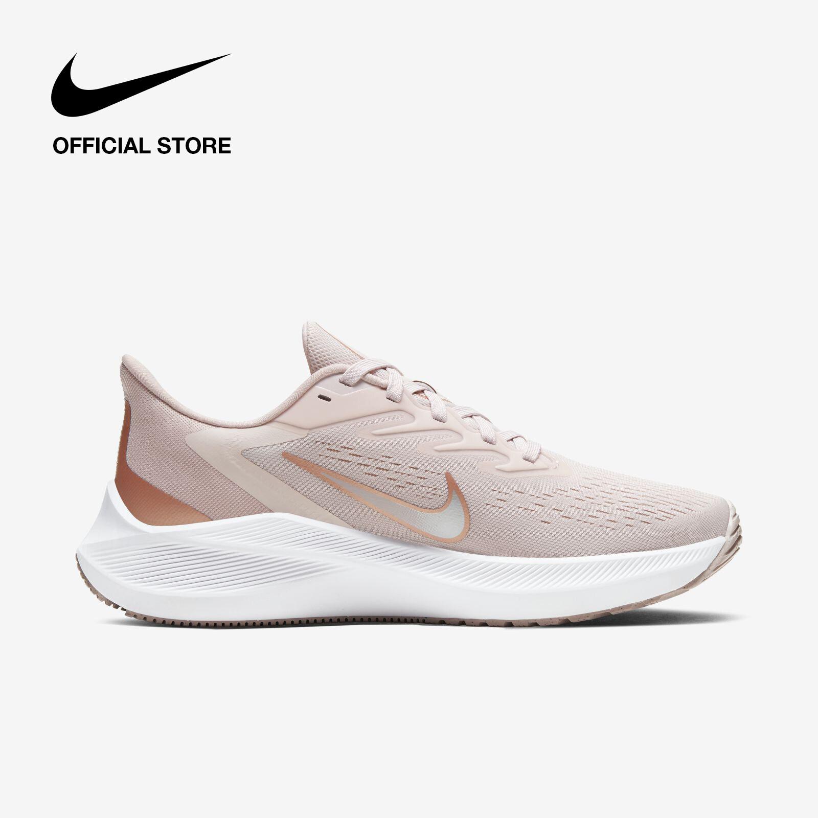 รีวิว Nike Women's Zoom Winflo 7 Running Shoes - Barely Rose ไนกี้ รองเท้าวิ่งผู้หญิง ซูม วินโฟล 7 - สีชมพู