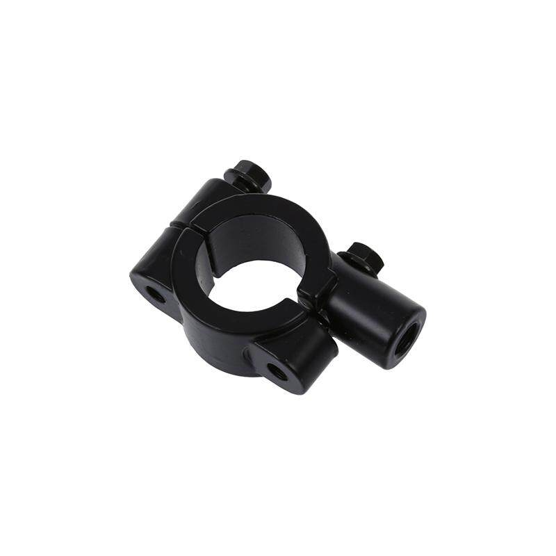 2 PCS Motorcycle Handlebar Mount Handlebar Holder Mounting Clamps Black