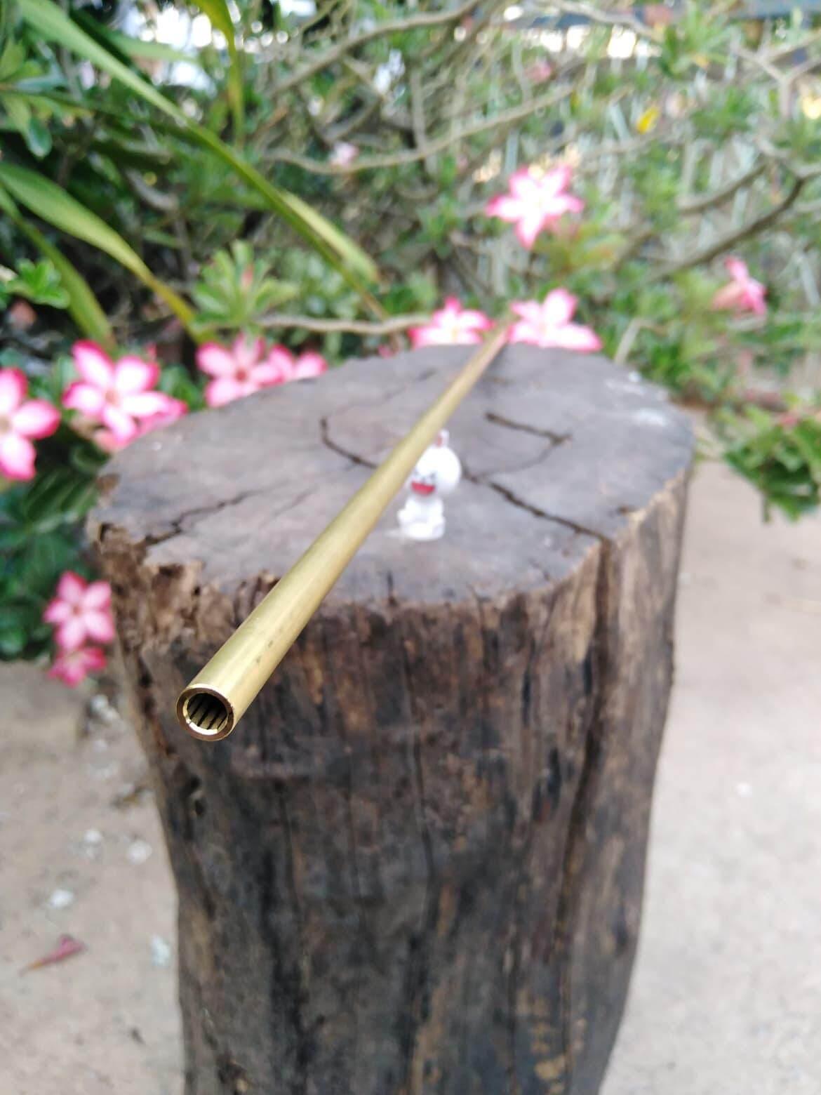 ลำทองเหลืองPCPเบอร์2/12เกลียวยาว24นิ้ว