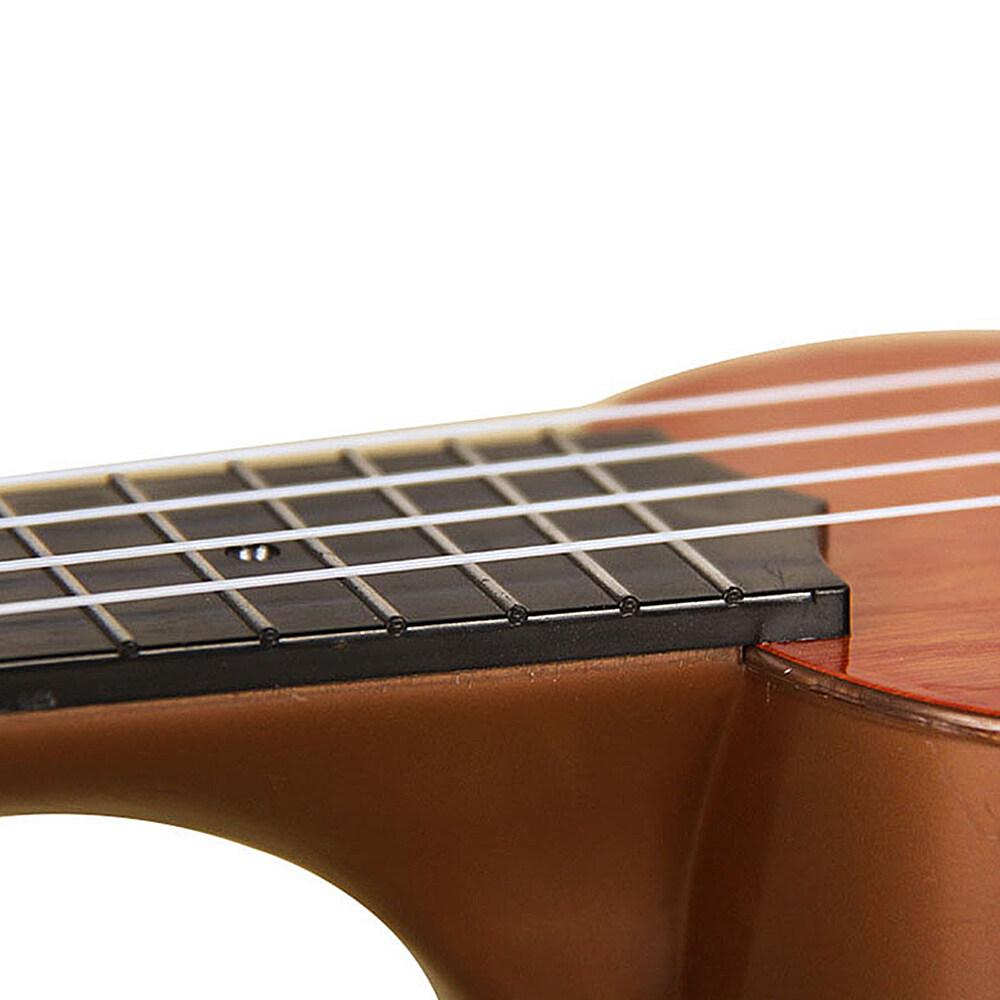 รีวิว อูคูเลเล่กีตาร์ ของเล่นเด็ก[จัดส่งอย่างรวดเร็ว]#เครื่องดนตรี สำหรับเด็ก21 นิ้ว เครื่องดนตรี4 สาย กีตาร์ฮาวาย (ไม้แท้)