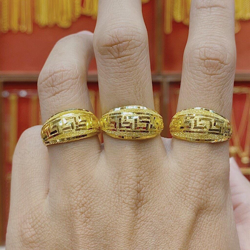 รีวิว TBS แหวนทองครึ่งสลึง รวยวนไป V.2 หนัก 1.9 กรัม ทองคำแท้96.5% ขายได้ จำนำได้ มีใบรับประกัน