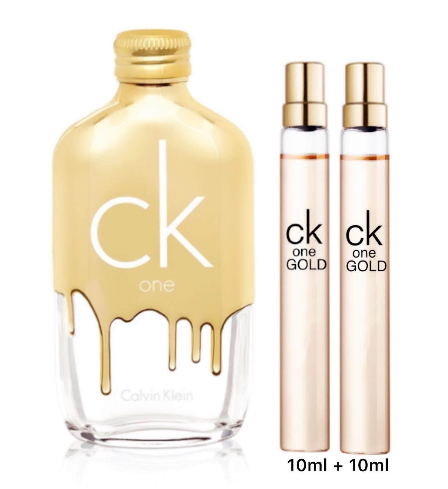 ซื้อ1แถม1ถูกสุดในเว็บ! CK ONE GOLD Tester 10ml 2ขวด
