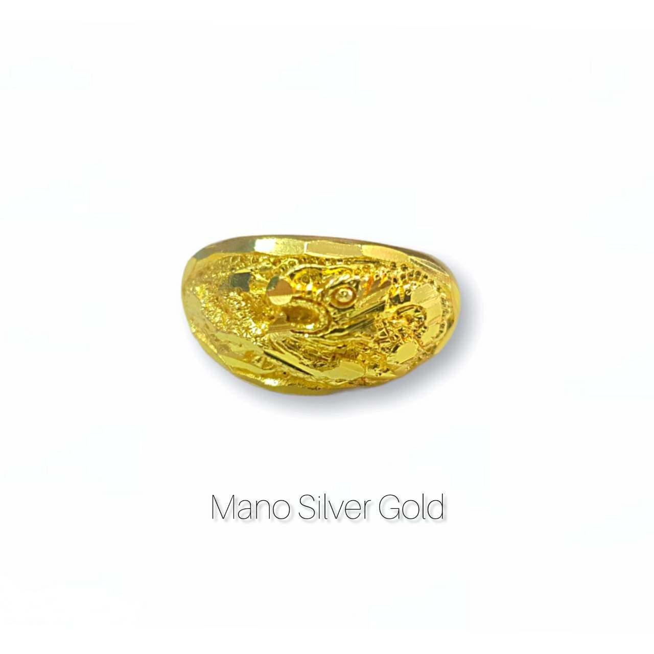 แหวนทองเคลือบ 048 แหวนทองเคลือบแก้ว ทองสวย แหวนทอง แหวนทองชุบ แหวนทองสวย แหวนหนัก 1 สลึง