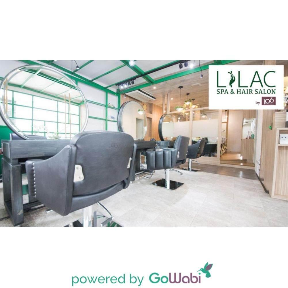 Lilac by 106 Hair - Cut + Milbon Treatment 4 Steps + OLAPLEX + Soda Shower Shampoo