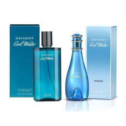Davidoff น้ำหอม Davidoff Cool Water For Men 125 ml.+ Davidoff Cool Water For Women 100 ml.
