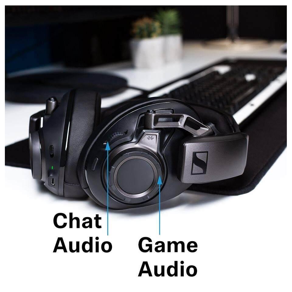Sennheiser GSP 670 Wireless 7.1 Surround Sound Gaming Headset Wireless / Bluetooth (เเถมฟรีที่เเขวนหูฟัง GSA 50) sennheiser gsp 670 - รีวิว Sennheiser GSP 670 หูฟังเล่นเกมไร้สายไร้ดีเลย์