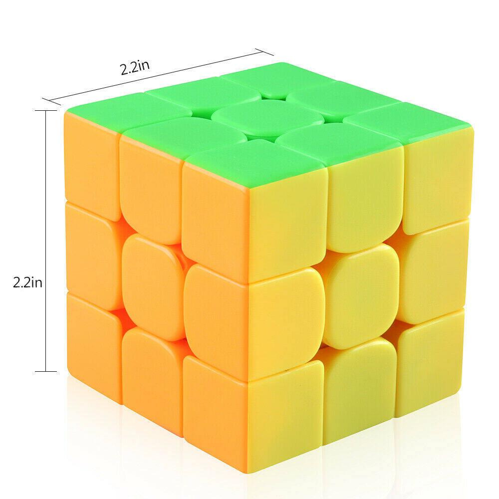 รีวิว รูบิค 3x3x3 อย่างดีหมุนลื่น CuberSpeed Moyu MoFang JiaoShi MF3RS Stickerless Bright 3x3x3 Magic Cube Original Ultra-smooth Stickerless Puzzle Twist Kids Gift