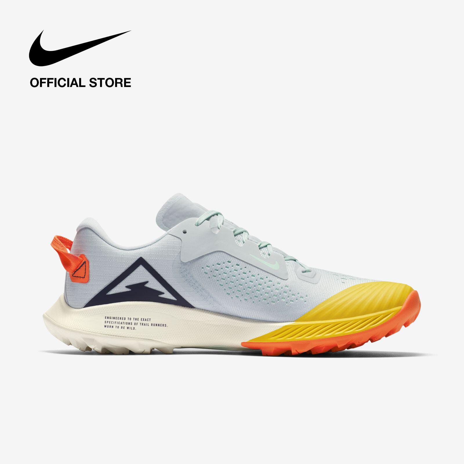 รีวิว Nike Women's Air Zoom Terra Kiger 6 Trail Running Shoes - Aura ไนกี้ รองเท้าวิ่งเทรลผู้หญิง แอร์ ซูม เทอร่า ไคเกอร์ 6 - สีฟ้า