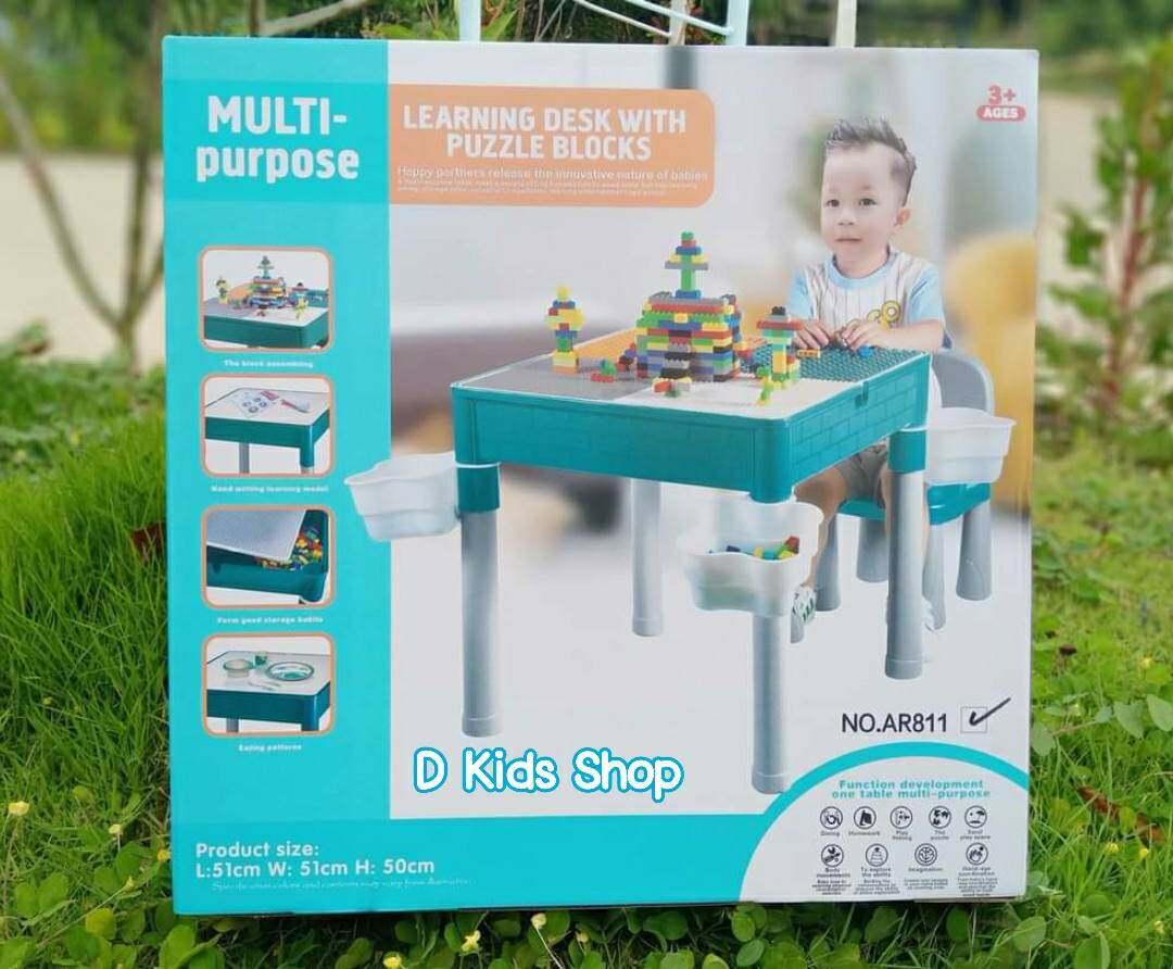 รีวิว D Kids ชุดโต๊ะตัวต่อ+เก้าอี้1ตัว+ตัวต่อเลโก้360ชิ้น+ตะกร้าใส่เลโก้4ชิ้น เกรดพรีเมี่ยม Lego 2in1 Construction Table Set คุ้มที่สุดดดดด โต๊ะเลโก้ โต๊ะต่อเลโก้