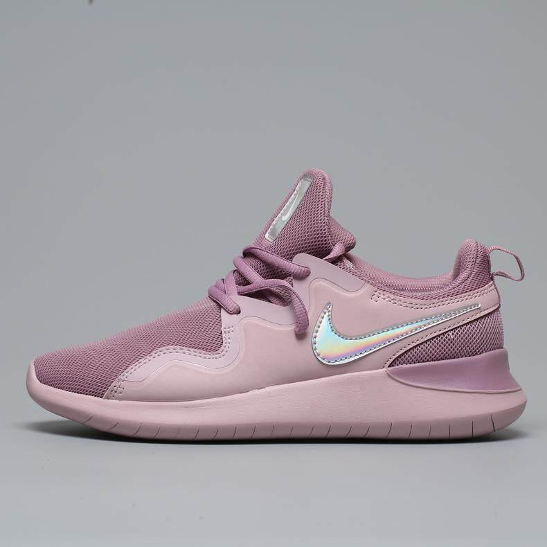 สอนใช้งาน  ตรัง Nike_WMNS TESSEN Womens Running Shoes Sneakers Breathable Light Running Sport Outdoor Good Quality